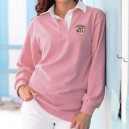 POLO FEMME RUGBY ROSE